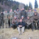 Members of GSR2, IR87 and the mountain brigade in a company of a Minister of Defence