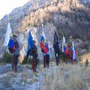 Flags of veteran organistions