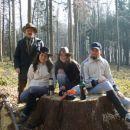 Naše počivališče na Bledu.. Udeleženci g. Franc, Tatjana, Sara, Marjan in fograf Grega