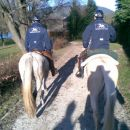 Naši gostitelji - člani konjeniškega kluba Velenje