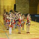 Mlajše članice društva mažoret in plesalcev Ribnica