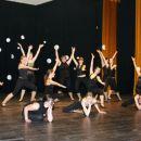 1. skupina s plesno točko Bamboo. Mentorica Tina Jurkovič