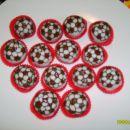 Nogometne žogice (čokol.kroglice-tičina masa