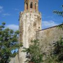 Cerkev na gradu...ogled nemogoč...kratke hlače prepovedane :)
