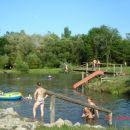 lake in camp menina