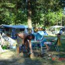 in campsite