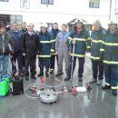Predstavitev gasilske opreme  v PGD Lokarje