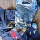 Majice GAP in jeans bermude Smog