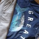 Majica GAP in sv. sive bermude Zara