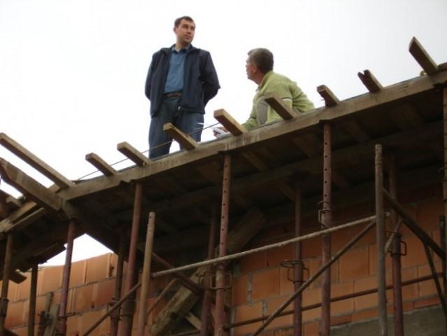 Pripremni radovi za kupolu - foto
