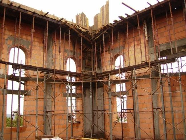 Pripremni radovi za kupolu - foto povečava