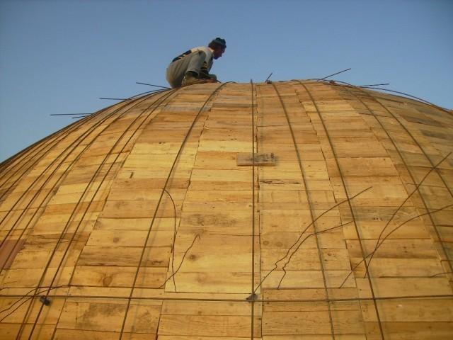 Armatura kupole - foto