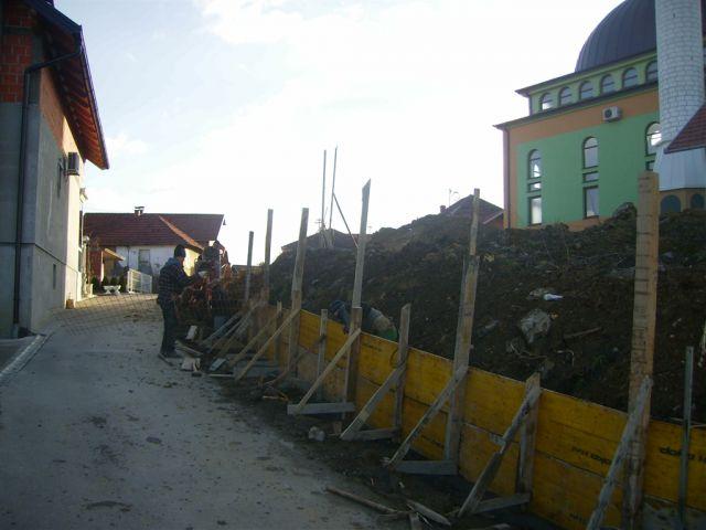 Betonski zid - foto