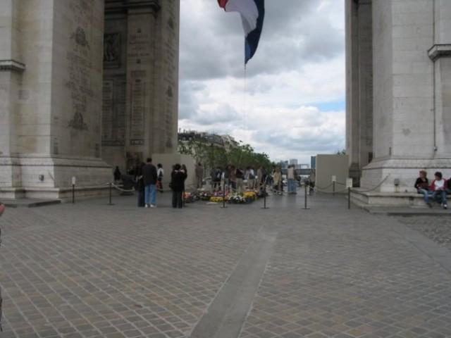Paris: Arc De Triumpfe - podnožje