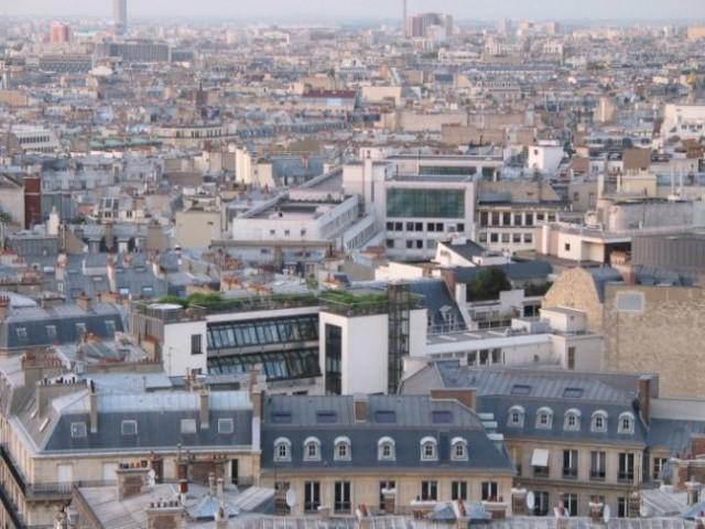 Paris: Arc De Triumpfe - pogled na grad