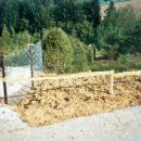 Sanacija in odstranitev na črno zgrajene ceste na tuji lastnini vikendaša v Hramšah