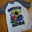 št.116 majica monster- 5€