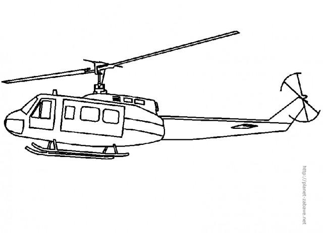 Rescue Helicopter Coloring Pages Pobarvanke - predvajal...