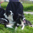 Na tekmi je zelo vroče. Antej in Meg.