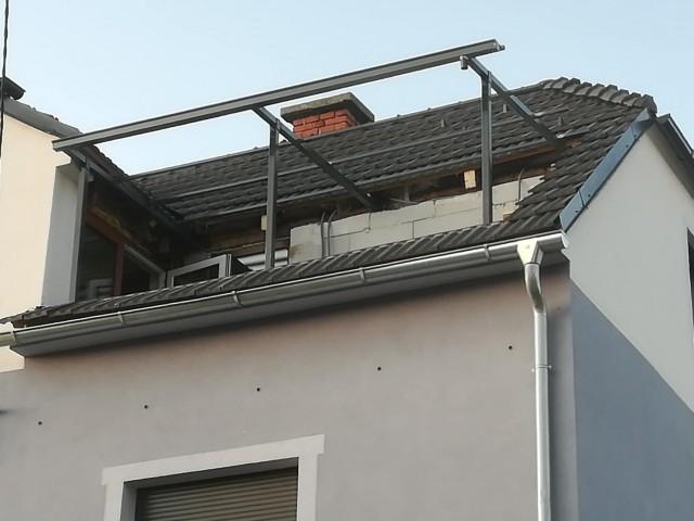 Nadstresek na balkonu  - foto
