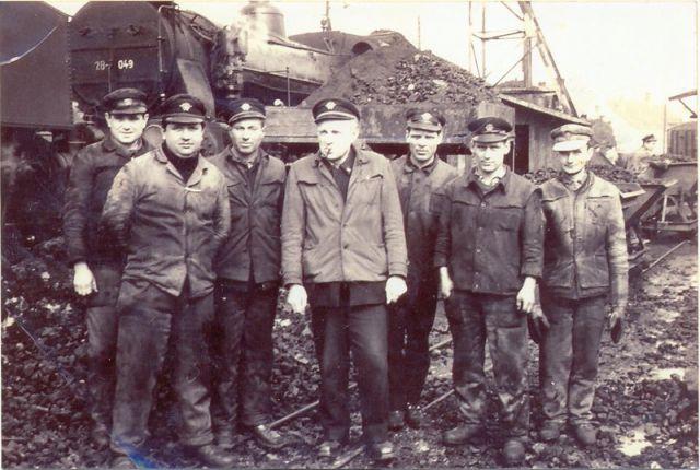 Zgodovinske fotografije železnice - foto