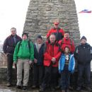 Letošnja ekipa na vrhu Donačke gore (brez fotografa)
