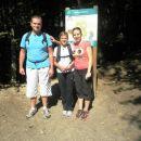 Božo, Anja in Barbara pred startom