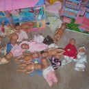Dojenčki z oblačili 50 eur