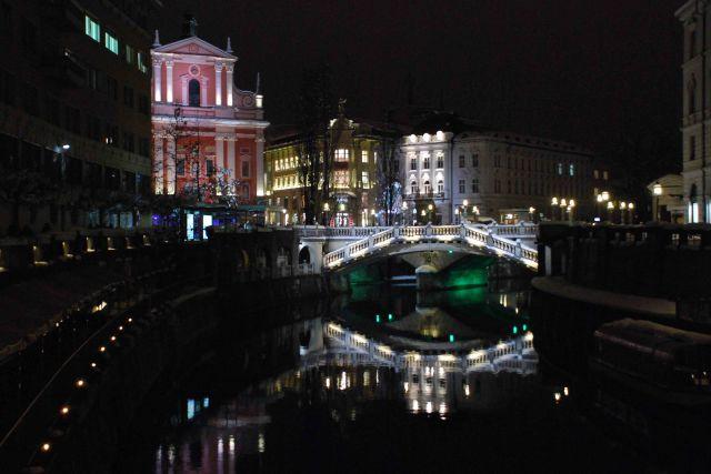 Noč v ljubljani - foto