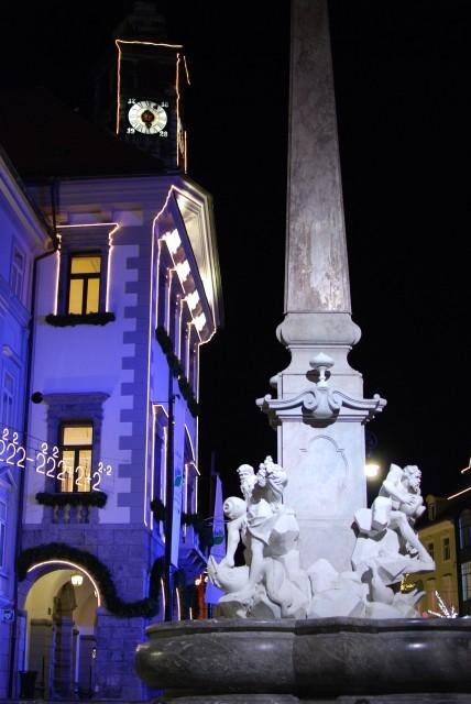 Nočni sprehod v Ljubljani - foto