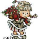 BILDMALARNA - CHRISTMAS FLOWER