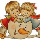 BILDMALARNA- CHRISTMAS SNOW FUN