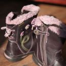 usnjeni škornji 24; 19 eur