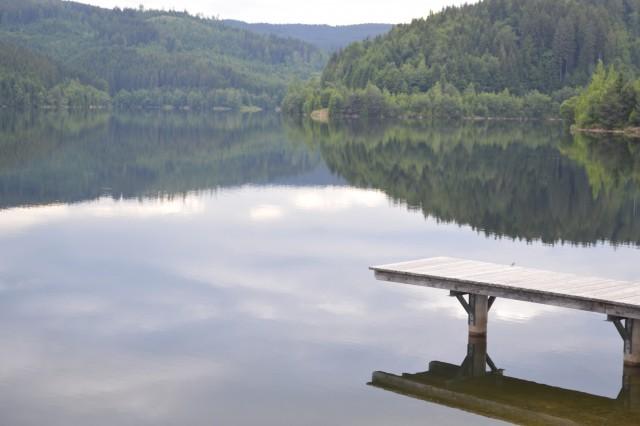 Soborh jezero v Avstriji - foto