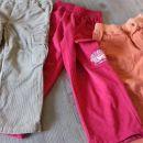 žametne hlače + trenirka