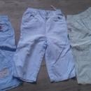 poletne hlače 80 z elastiko v pasu