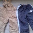 zimske hlače trenerka in žametne