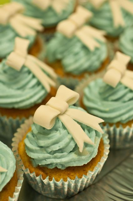Cupcakes z mašnicami