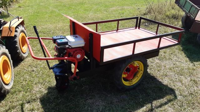Motorni voziček, motorna kolica - foto