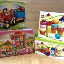 Lego duplo, 3 kompleti, cena vseh: 20€