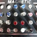 uhani na magnet 0,7€/par 2+1gratis