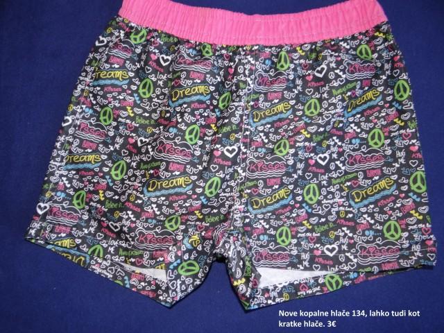 Kopalke, kratke hlače