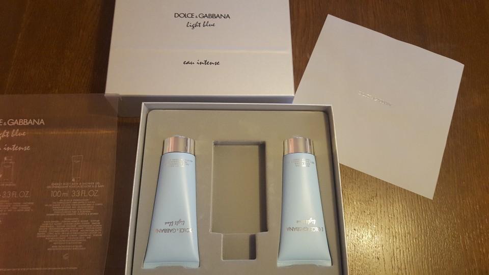 Mleko za telo dolce&galbana light blue NOVO - foto povečava
