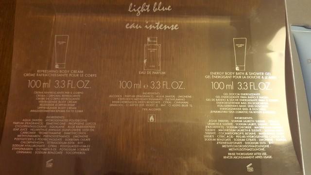 Mleko za telo dolce&galbana light blue NOVO - foto