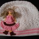 bombažna kapa punčka