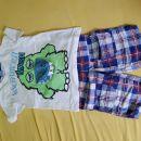Komplet kratke hlače kratka majčka 110/116 6€