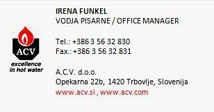ACV IRENA FUNKEL