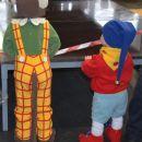 Topel pustni kostum Nodi in Opica Marta