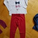 Majčka Ovs in hlače Next 122