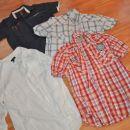 Komplet 4: moške srajce, vel. M